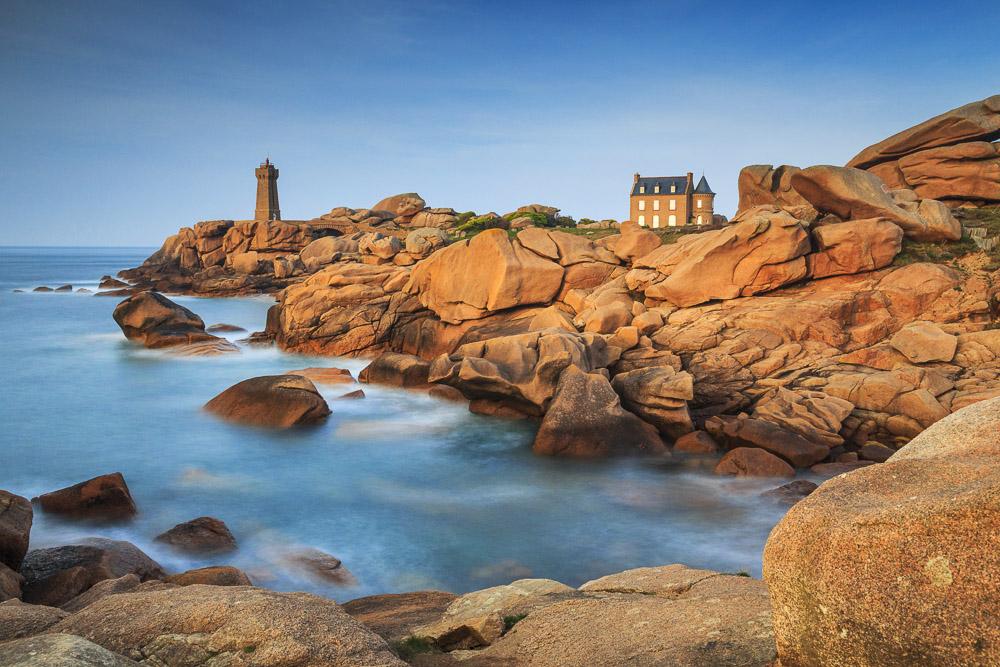 Men Ruz, Ploumanac'h, Bretagne