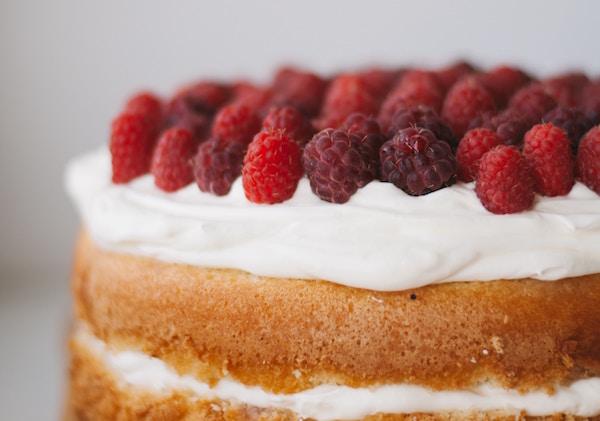 Himbeeren torte