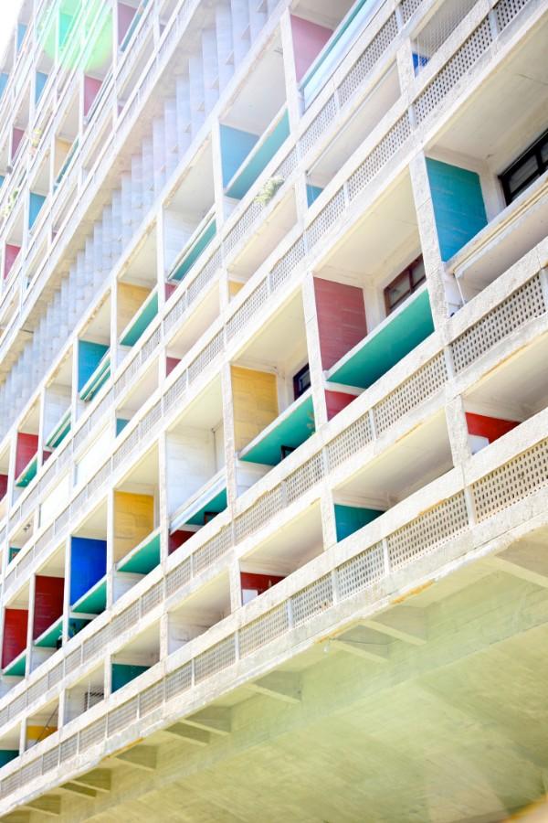 LE Corbusier-Cité radieuse Marseille