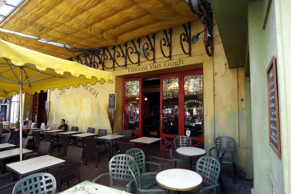 Café Van Gogh Terras