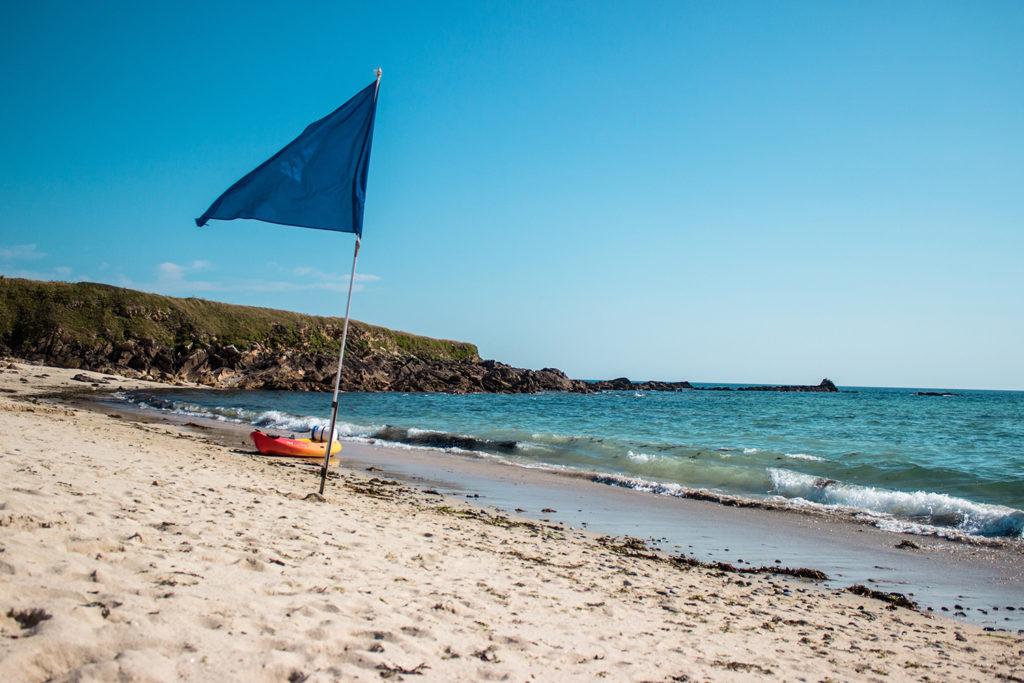 Die Blaue Flagge Strand