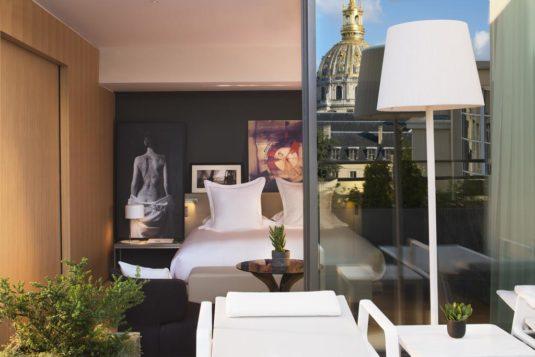 Hotel Le Cinq Codet Paris Eiffelturm