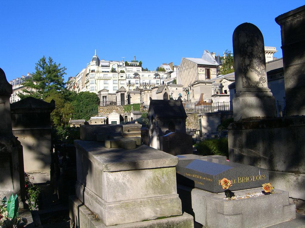 Montmartre Friedhöfe