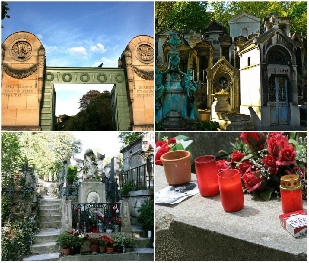 Père Lachaise Friedhofe Paris