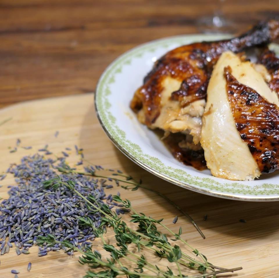 Hähnchen mit Lavendel und Feigen Rezept