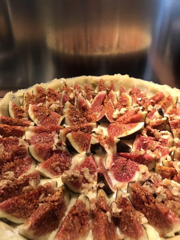 tarte aux figues - feichenkuchen