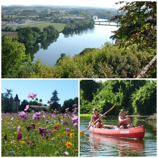 Fluss Lot et Garonne