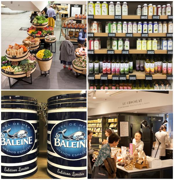 Paris Kaufhäuser La Fayette Gourmet Culi