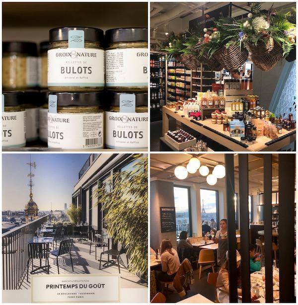 Pariser Kaufhäuser La Fayette Gourmet
