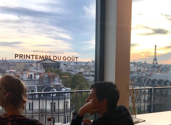 Pariser Kaufhäuser Le printemps du goût