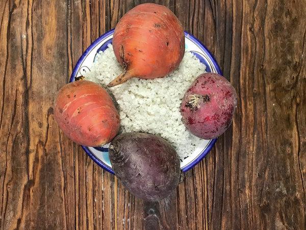 Rezept Rote Bete in Salzkruste à la Alain Passard