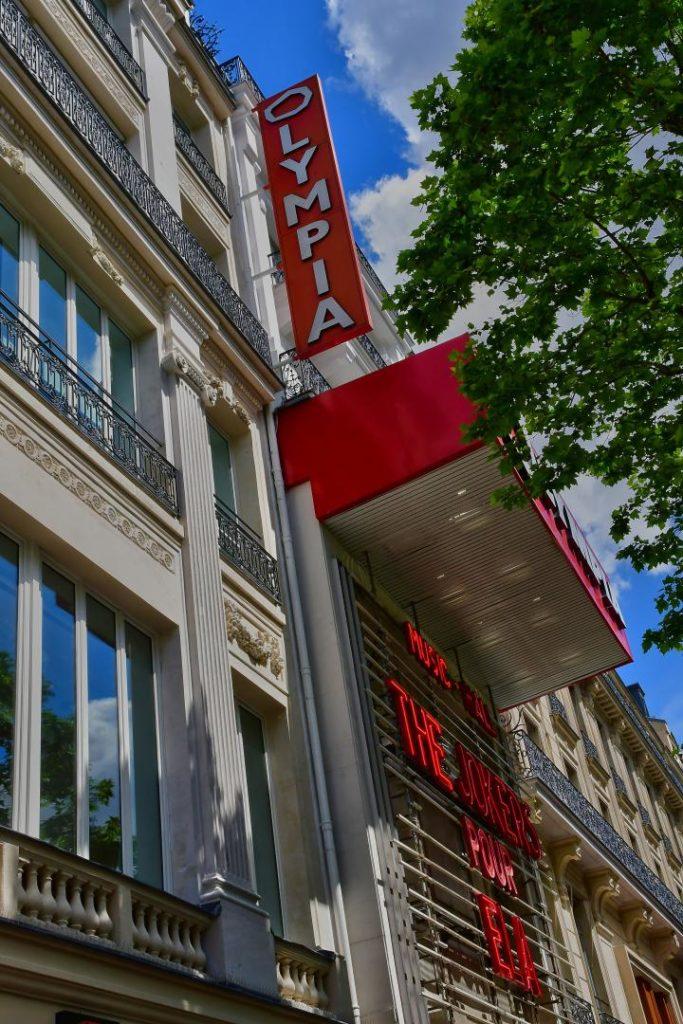 L'Olympia Paris musikalische Inspirationsquellen in Frankreich
