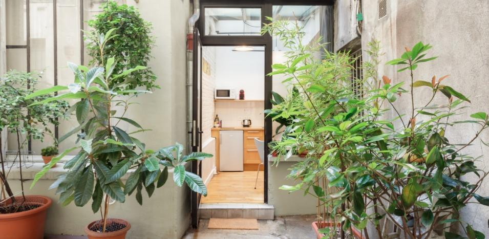 Mini-Loft Le Marais Hofgarten Paris airbnb