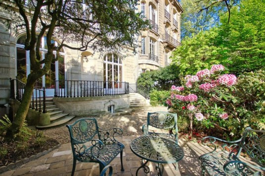 Romantische Villa neben dem Parc Monceau