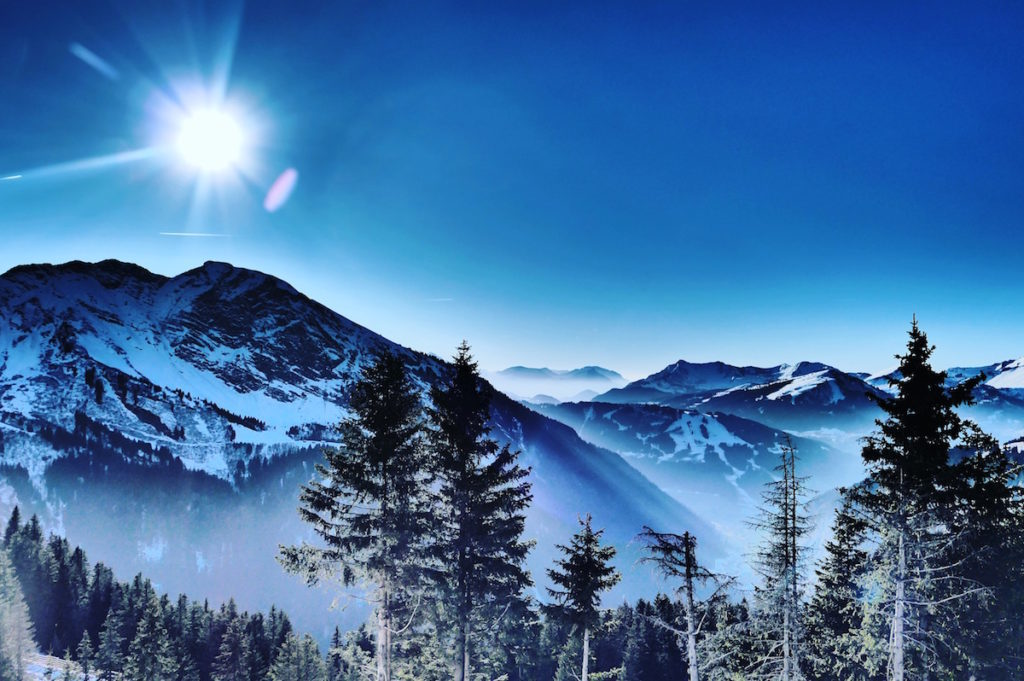 Avoriaz Panorama Berg