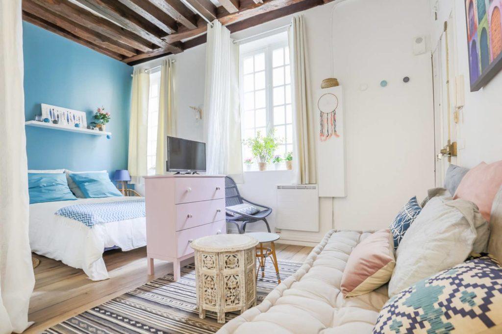Verträumtes Studio im Marais Paris airbnb
