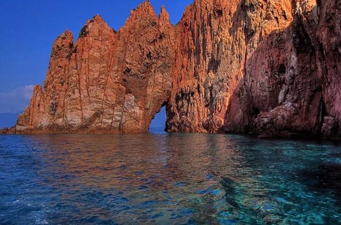 Scandola Naturgebiet Korsika