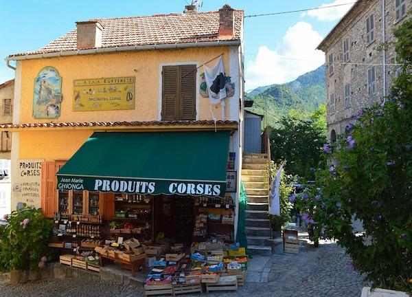 Corte shop Korsica