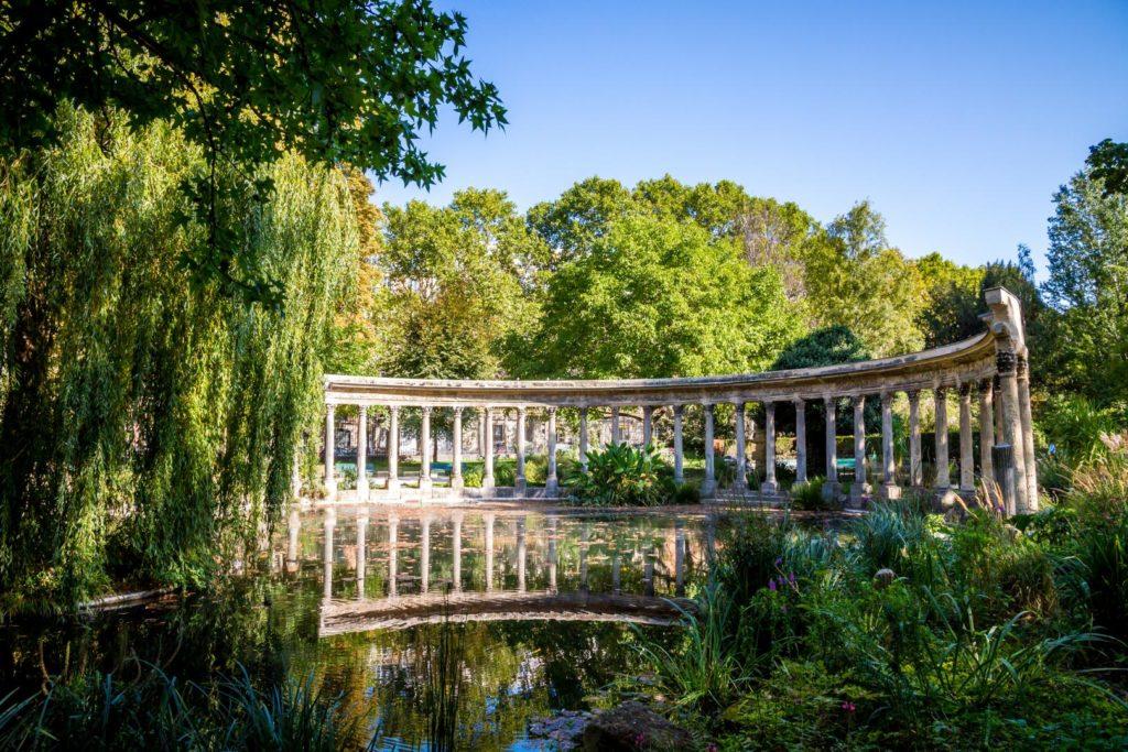 Parc Monceau Paris Park Gärten