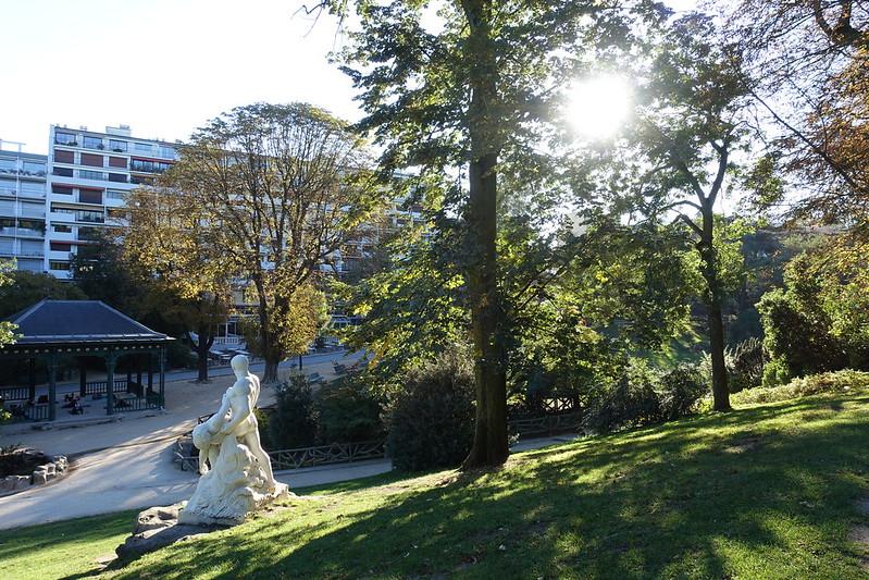 Parc Montsouris Paris Parks Garten