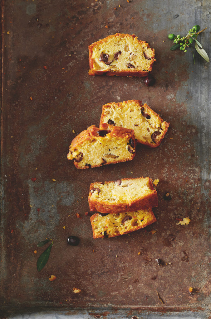 cake aux olives rezept