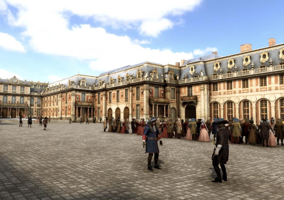 Versailles Virtuelle Besucht