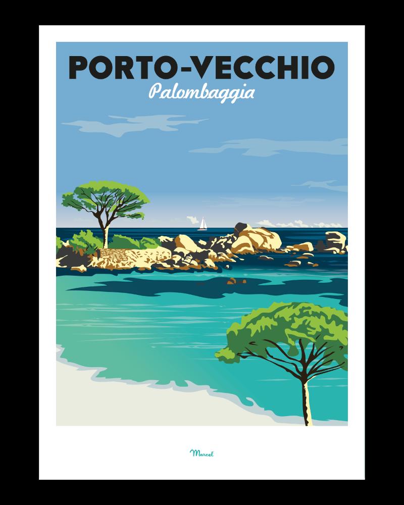 affiche porto vecchio palombaggia