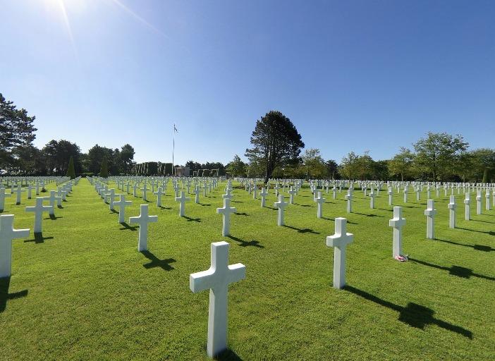 Colleville Amerikanischer Soldatenfriedhof Normandie