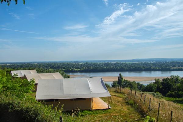 Saumur camping Huttopia