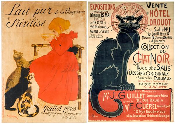 Théophile Stainlen Affiche Musée Carnavalet Paris