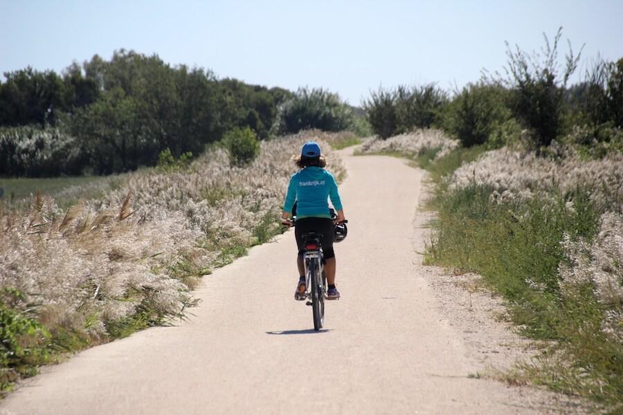 Camargue Radfahren Orte der Provence