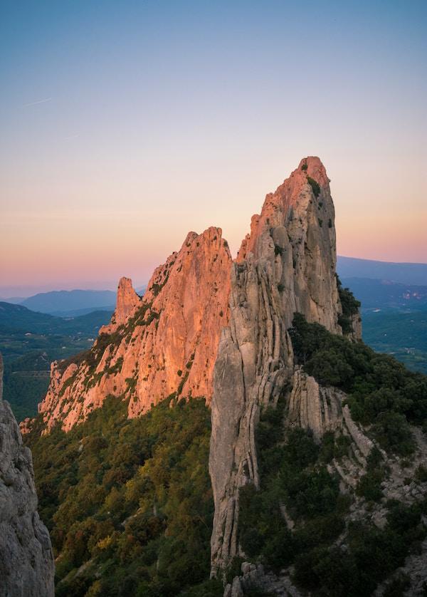 dentelles de Montmirail Orte in der Provence