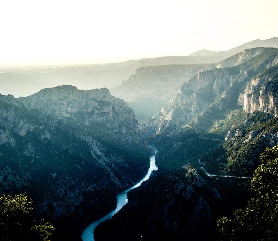 Gorges du Verdon Orte Provence