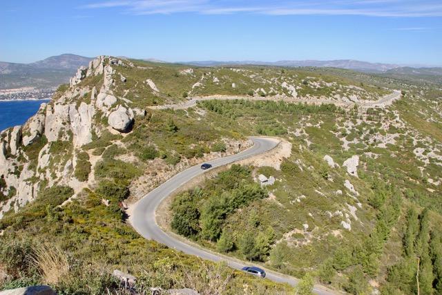 Route des Crète Cote d'Azur