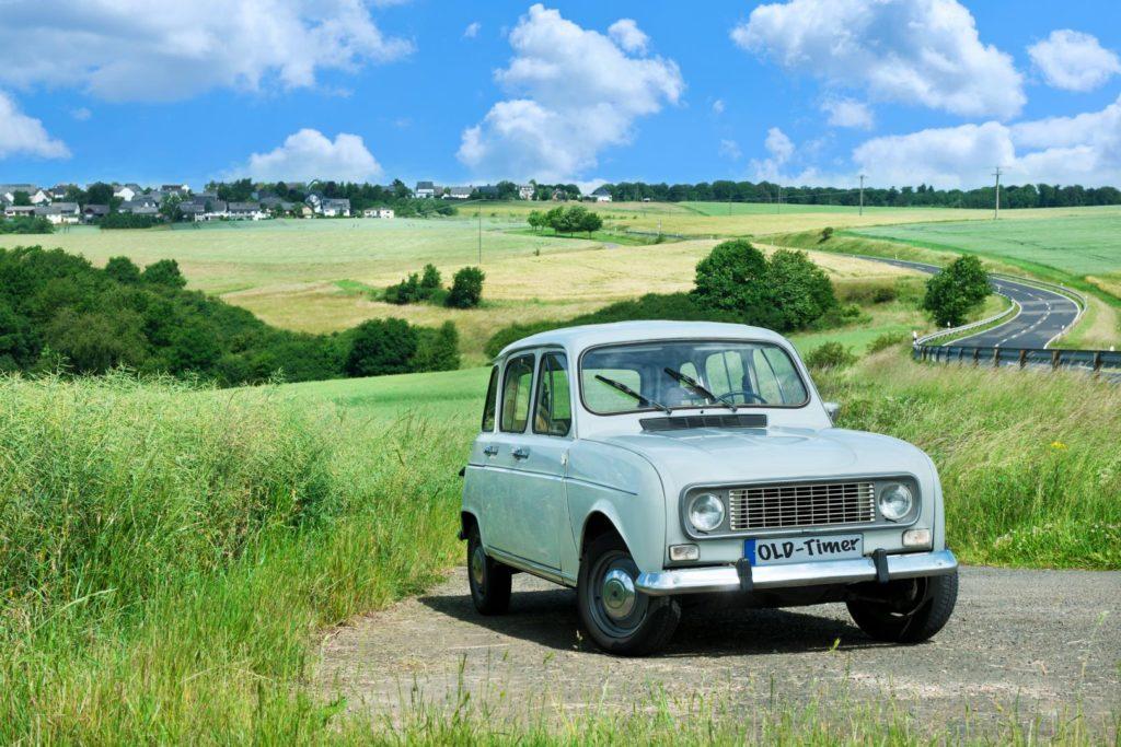 legendäre französische Oldies Renault R4