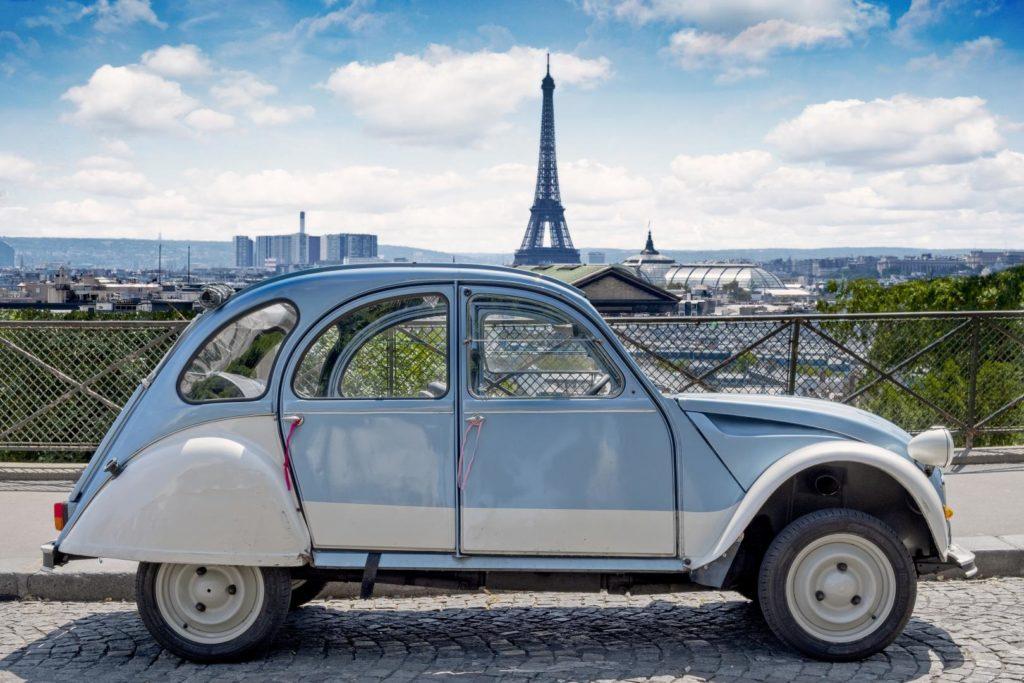 französische autos 2CV