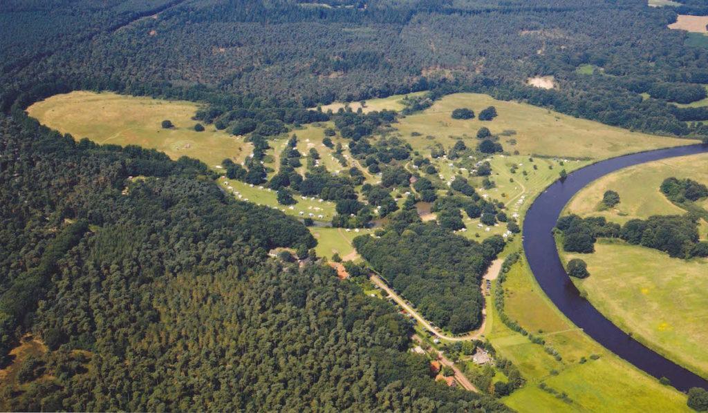 Huttopia Camping De Roos Natur-Campingplatz Niederlanden