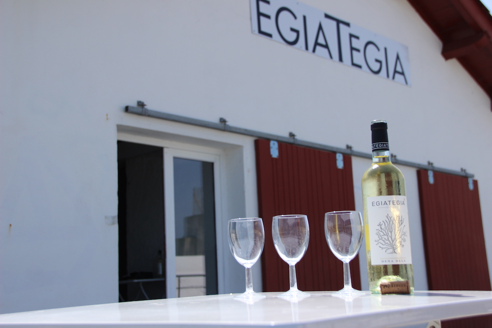 Egia Tegia St Jean de Luz Wein