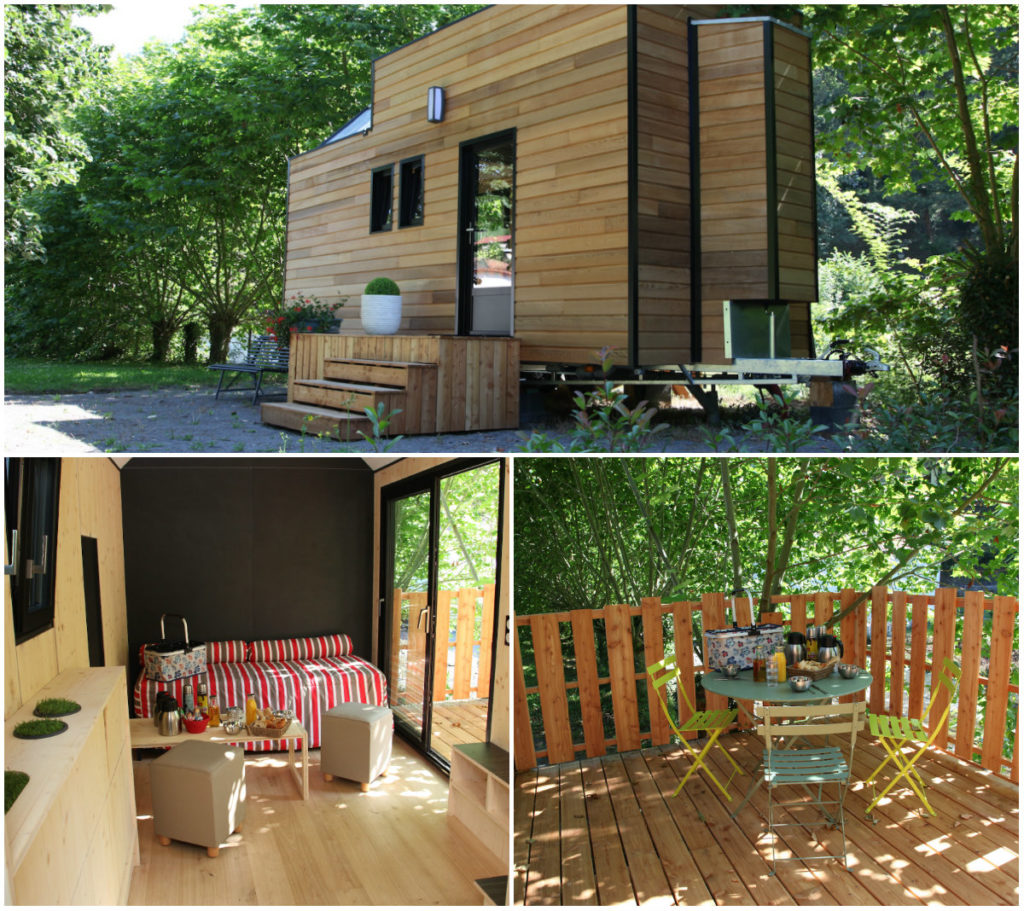 Tiny House Hotel Andreinia Bordeaux Aquitaine Originelles