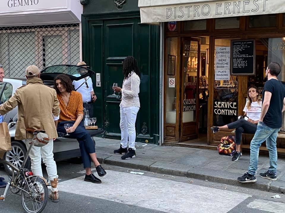 Paris Bistro restaurant Coronaregeln