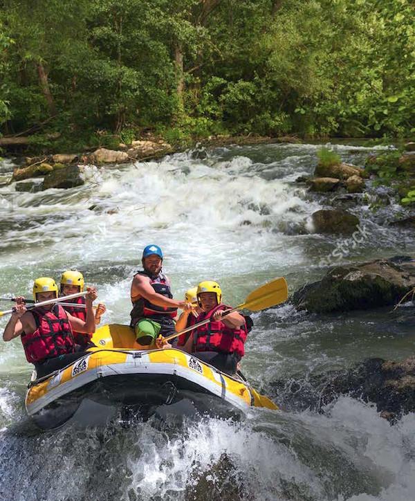 Rafting Aude Gorges de Pierre-Lys