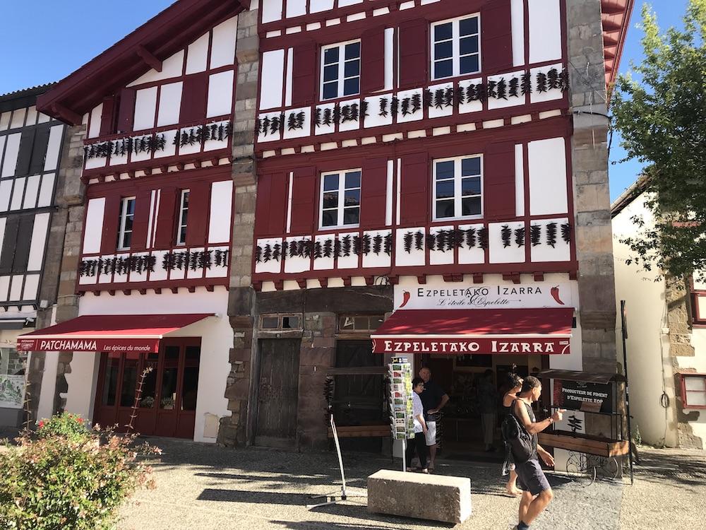 Espelette Baskenland Frankreich