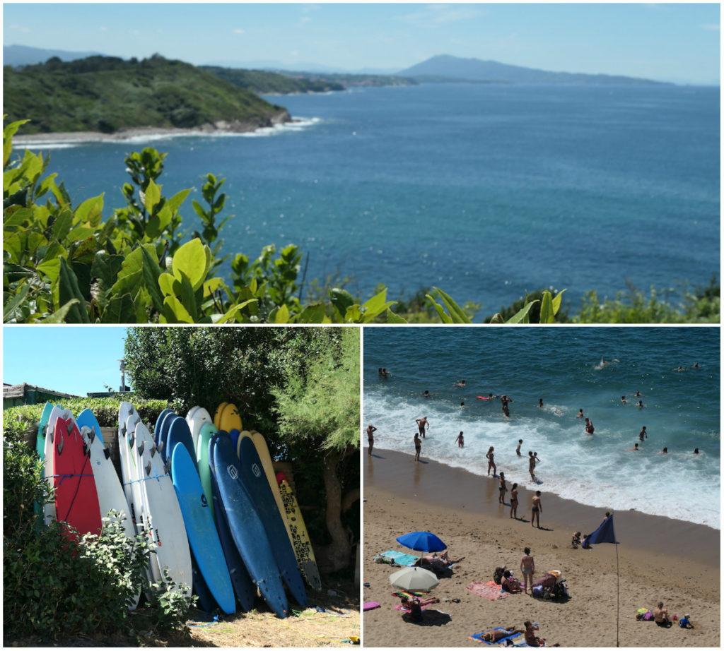 Küste und Strand Französisch Baskenland