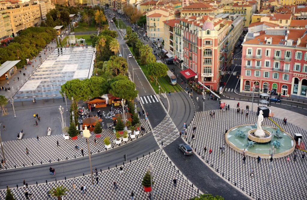 Place Massena Nizza