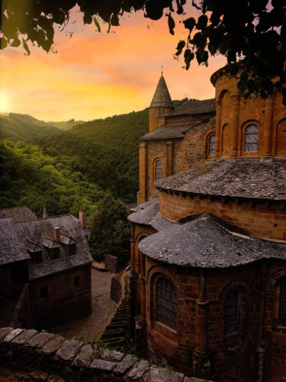 Conques abbaye Aveyron Occitanie