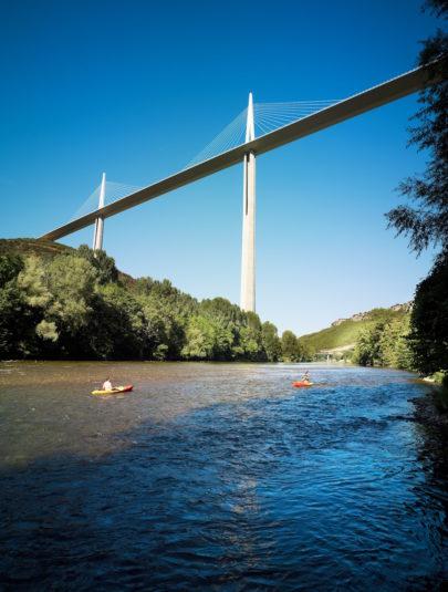 Millau kayak Aveyron