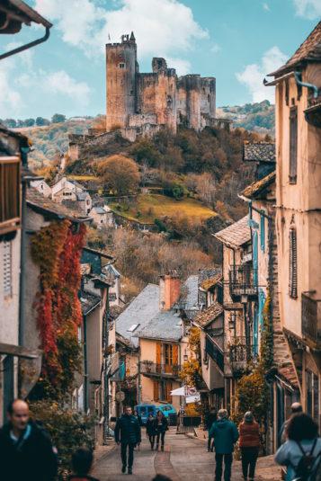 Najac im Aveyron Occitanie