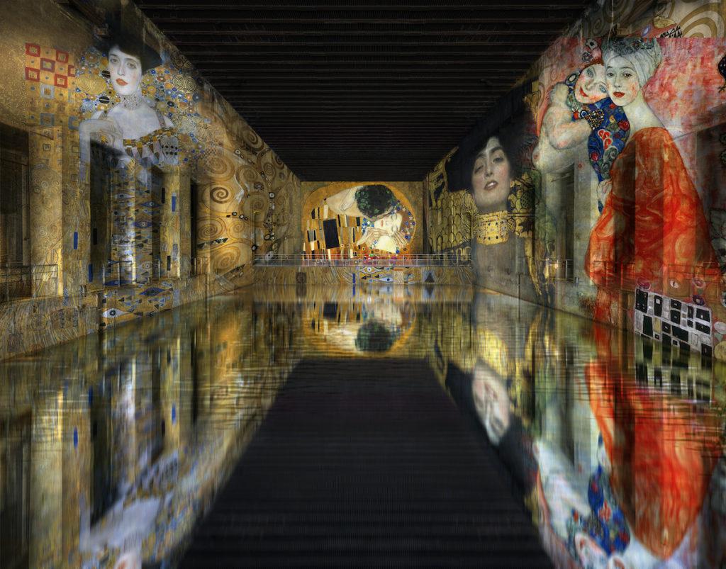 Bassin des Lumières Klimt Bordeaux