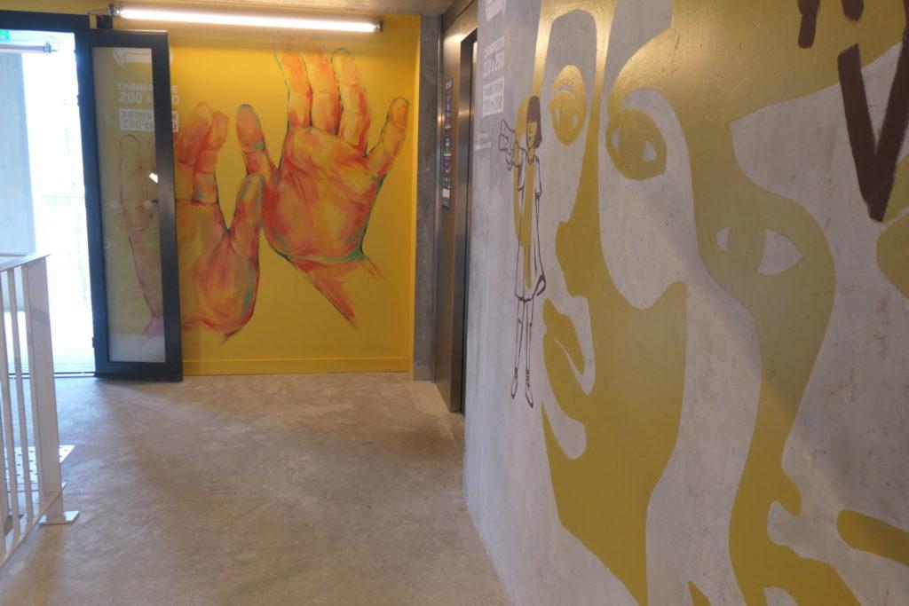 hippes Budgethotel in Bordeaux: EKLO