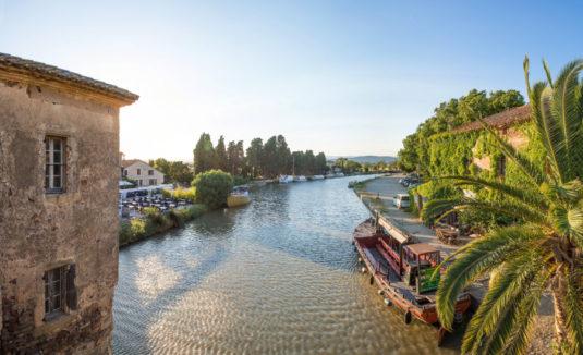 Top 5 Naturschönheiten rund um Narbonne Le Somail Canal du Midi